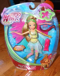 Nickelodeon Winx Club Flora Sirenix Doll from JAKKS Pacific @Jackie Dixon-Sides Pacific