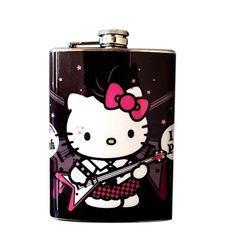 Hello Kitty Hip Flask. HK is on everything!