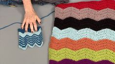 Loose Ends: How To Do a Chevron Using Colour (+playlist)