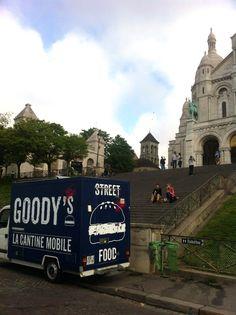 GOODY's Burger Food Truck Meets Tourists in Paris