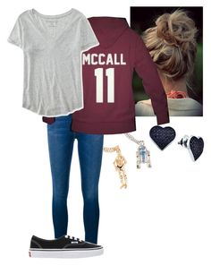 """""""Olivia (1)"""" by andyspinja on Polyvore featuring R2, Frame Denim, Vans, Aéropostale, BillyTheTree, women's clothing, women, female, woman and misses"""