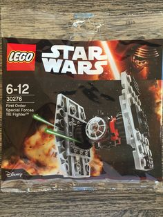 Lego Star Wars 30276 Tie Fighter First Order Polybag - 2015 Force Awakens Lego For Sale, Micro Lego, Lego War, Tie Fighter, First Order, Cool Lego, Special Forces, Lego Sets, Toys For Boys
