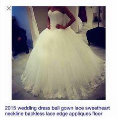 Wedding Dress drop waist