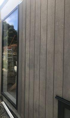 Hokonui Hut Gallery — Black Hut Designs House Plans, Garage Doors, Construction, Gallery, Outdoor Decor, Black, Home, Design, Building