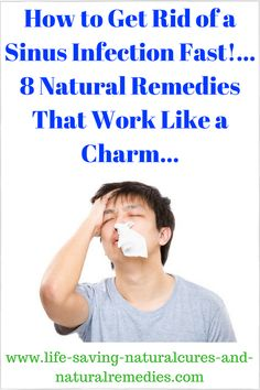 8 Super Strong Home Remedies for Sinusitis & Sinus Headache -- Get rid of that sinus infection quickly & give yourself some welcome relief from nasal congestion with these 8 stunning natural remedies.life-saving-n. Home Remedies For Sinus, Chest Congestion Remedies, Sinus Infection Remedies, Allergy Remedies, Natural Headache Remedies, Flu Remedies, Natural Home Remedies, Natural Healing, Herbal Remedies