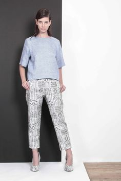 ARMANDO TAKEDA 2015-16AW LOOK04 #tops #pants