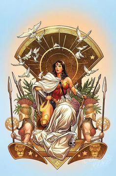 Wonder Woman 6 Cover art by Frank Cho Batwoman, Batgirl, Frank Cho, Comic Book Artists, Comic Book Characters, Comic Books Art, Comic Art, Female Characters, William Moulton Marston