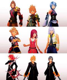 Kingdom Hearts  The Weilders. Ventus and Roxas are my faves. So emotionally attached its depressing.