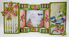 Welcome Birds and Blooms by Heartfelt Creations - Created by Lori Williams of Pinkcloud Scrappers