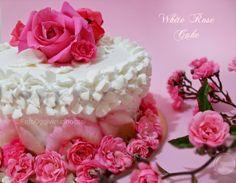 ©Oggi vi cucino così! #White #Rose #Cake | Re-Cake 8
