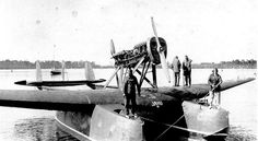 """The Italian  Royal Air Force - Savoia-Marchetti S.55X """"Jahu"""", piloted by Commander João Ribeiro de Barros, born on April 4, 1900, in the central region of Jahu (State of Sao Paulo, Brazil) crossed the South Atlantic on 27 April 1927 from Genoa (Italy) reached Sao Paulo (Brazil)"""