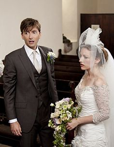 Kelly Macdonald and David Tennant in The Decoy Bride (2011)