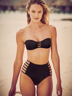 Believe it—the strappier, the sexier. For questions, please see this swimsuit. | Victoria's Secret The Strappy Bandeau