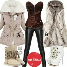 Fashionista picks Resale Clothing, Fall Outfits, Chic Outfits, Leather Pants, My Style, Boots, How To Wear, Clothes, Dresses