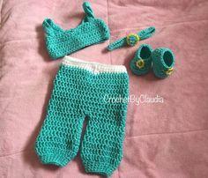 Crochet Jasmine Inspired PhotoProp Set/ by CrochetByClaudia