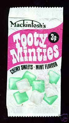 Tooty Minties - like Tooty Frooties but mint !