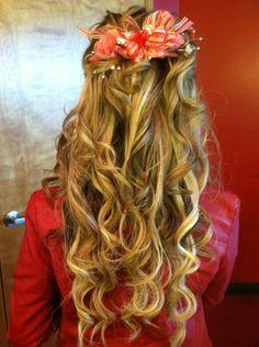 Prom hair (: