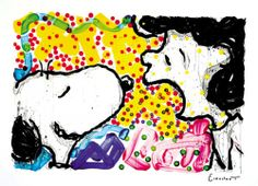Snoopy and Lucy work by Tom Everhart