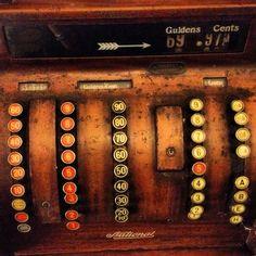 An old, antique cash machine~ #old #antique #cash #machine #vintage