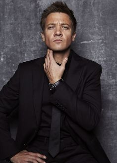 jeremy renner at The Hollywood Reporter 2012