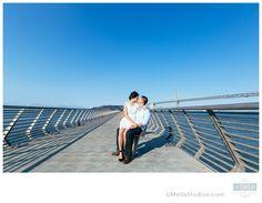 San Francisco Engagement photos, Pier 14 - UMeUsStudios.com