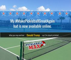 dbd842f7a67 If Donald Trump Played Pickleball – 10 Things You Would Likely Overhear on  the Pickleball Courts