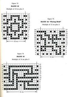 Mosaic Knitting Barbara G. Walker (Lenivii gakkard) #112