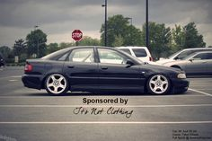 News   It's Not Clothing/ Audi B5 A4, slammed, stance, tucking