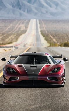 Best Sports Cars   :   Illustration   Description   (°!°) Koenigsegg Agera RS, set a top speed record of 277mph…