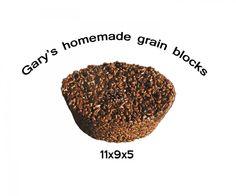 Homemade deer and elk grain blocks attractant nutritional feed wild animals, Home & Living :: Pet Supplies :: Pet Feeding :: Bullszi.com