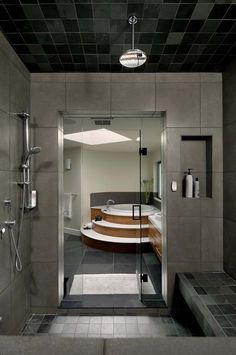 Love the shower, a room on its own