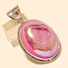 We are very fair and easy to deal with. Jewelry Gifts, Fine Jewelry, Emerald Pendant, Pendant Jewelry, Jewelry Necklaces, Silver Christmas, Pink Opal, Sterling Silver Pendants, Eid Gift