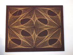 $50 vintage string art