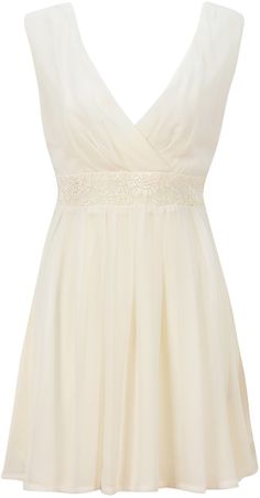BEIGE CHIFFON & LACE BOX PLEAT WRAP DRESS http://pussycatlondon.com/new-arrivals/beige-chiffon-lace-box-pleat-wrap-dress.html
