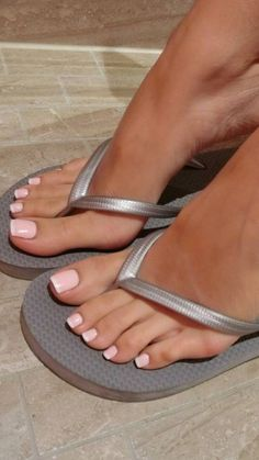 You searched for French pedicure - Nails Pretty Toe Nails, Cute Toe Nails, Cute Toes, Pretty Toes, Pink Toe Nails, Feet Soles, Women's Feet, Ongles Gel French, Pink Pedicure