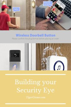 Built-in TF card slot, can support memory card, can view the video at any time, automatically overwrite the oldest video when the memory card is full. Mechanical Engineering, Electrical Engineering, Doorbell Button, Smart Ring, Ring Video Doorbell, Material Science, Hidden Camera, Old Video, Gadgets And Gizmos