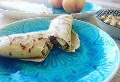 Cooking Bakery | Palatschinken mit Apfel-Nuss-Fülle Tacos, Mexican, Ethnic Recipes, Desserts, Food, Healthy Nutrition, Apple, Kochen, Food Food
