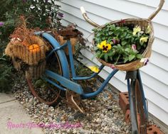 Simply Seasonal: Fall Edition Tour of Blogger Homes - Roots North & South