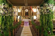 Dekoracja ślubna w Kościele. Nowy Tomyśl