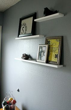 Save It For a Rainy Day: DIY Floating Shelves