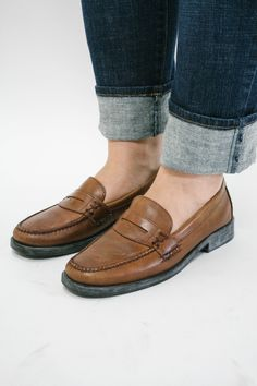 westheritage:  West Heritage x Worn Fenmore Weejun Penny Loafers