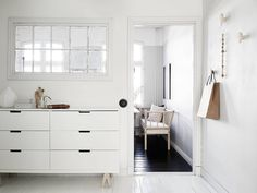 When can I move in? stadshem The post Light, airy & dreamy Swedish apartment appeared first on Daily Dream Decor. Scandinavian Apartment, Scandinavian Interior Design, Scandinavian Home, Nordli Ikea, Ikea Cupboards, Ikea Furniture, Dream Decor, Living Spaces, Bedroom Decor