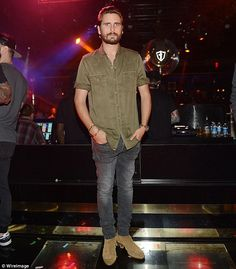 Why so sad? Scott Disick didn't appear to be in the best mood as he hosted a party at 1 Oa...