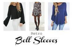 Retro Bell Sleeves Are you into the retro look? Do you like rocking clothes that have a throwback vibe? Then you will love the bell-sleeve trend. The wide sleeves give a free-spirited vibe to the pieces. The sleeves sort of remind me of pictures I have seen of disco dancers back in the '70s! Here is how to rock t...  Read More at http://www.chelseacrockett.com/wp/fashion/retro-bell-sleeves/.  Tags: #AutumnFashion, #BellSleeves, #FallFashion2015, #Fashion, #Fashion2015,