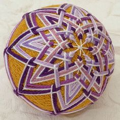 temari balls | Temari Ball No.32