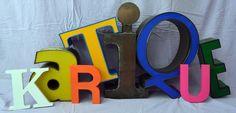 kartique - Onlineshop für Grußkarten und Vintage Buchstaben