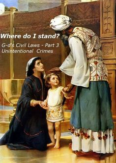 Where do I stand? Pertaining to God's Civil Laws – Part 3, Unintentional Crimes