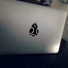 Handcrafted Macbook Decal This decal fits all Macbook / Macbook Pro/ Macbook Air models in 15 and 17 inch. It can be applied to your laptop, even your car. Mac Stickers, Mac Decals, Macbook Decal Stickers, Macbook Pro Laptop, Laptop Decal, Macbook Air, Computer Laptop, Bb 8 Wallpaper, Macbook Wallpaper