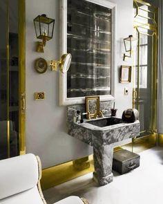 @lorenzocastillofe Interior Design Tips, Bathroom Interior Design, Classic Bathroom, Diy Bathroom Decor, Amazing Bathrooms, Bathroom Inspiration, Luxury Furniture, Luxury Homes, Home Decor