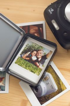 You can easily store your Instax square photos in the Instax Square Photo Box. Its perfect for travelling or parties because it will keep your photos safe and organised. Each box can hold about 20 Instax Square photos.
